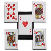 Royal Flush JL-SS5R 5-Piece Throwing Card Set, Hearts