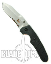 Benchmade H&K 30 Liner Lock Knife, Snody Design Serrated Edge, 14300S