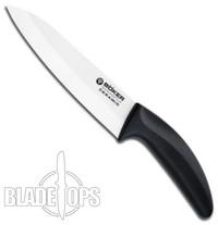 """Boker White Ceramic Kitchen Chef Knife, 6 1/8"""",  1300C3"""