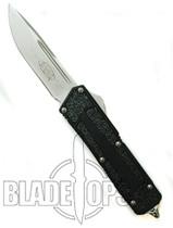 Microtech QD Scarab OTF Knife, Single Standard Edge, Bead Blast Finish, MT111-7