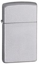 Zippo Slim Satin Chrome Lighter, Zippo 1605