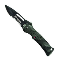 Smith & Wesson Black Ops Spring Assist Knife, Black, P/S, SWBLOP2BS