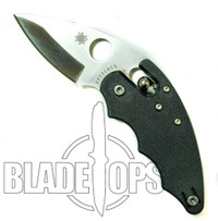 Spyderco Poliwog Knife, G10 Handle, Plain Edge, C98GP