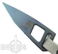 Quartermaster Knives ALF-2 Titanium Fixed Blade Knife, Purple