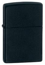 Zippo Black Matte Lighter, Zippo 218