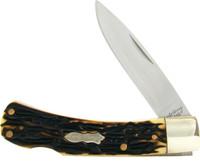 Schrade 5UH Uncle Henry Bruin Lockback Knife
