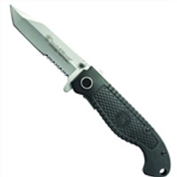 Smith & Wesson CKTACS Special Tactical Folder Knife, Tanto Combo Blade