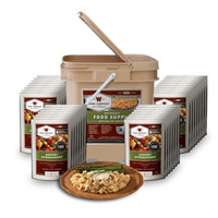 Wise Food Storage 120 Serving Emergency Entree Grab and Go