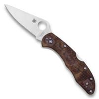 Spyderco C11ZFPDCMO Zome Desert Camo Delica 4 Folder Knife, VG-10 Satin Blade