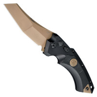 SIG Sauer Knives 36520 Emperor Scorpion EX-A05 Wharncliffe Auto Knife, CPM-154 Flat Dark Earth Blade