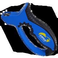 Gatco 6800 Blue/Black Pull Through Field Sharpener, Carbide
