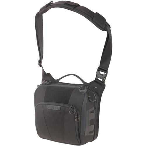 Maxpedition LCRBLK AGR Lochspyr Crossbody Shoulder Bag, Black