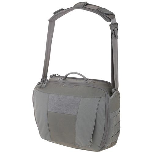Maxpedition SKYGRY AGR Skyvale Tech Messenger Bag, Grey