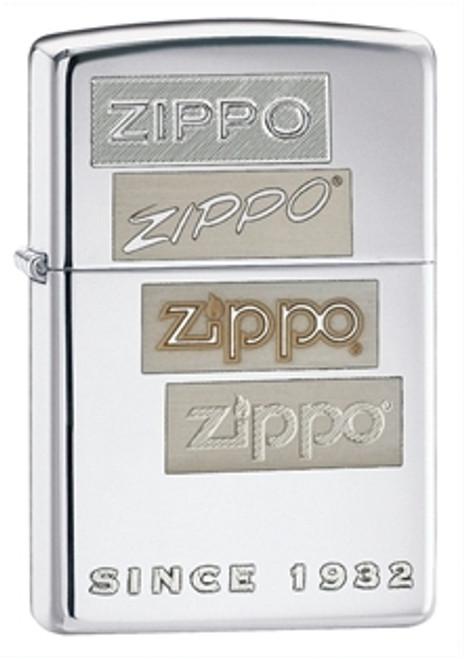 Zippo Classic Chrome Generations, High Polish Chrome, 24207