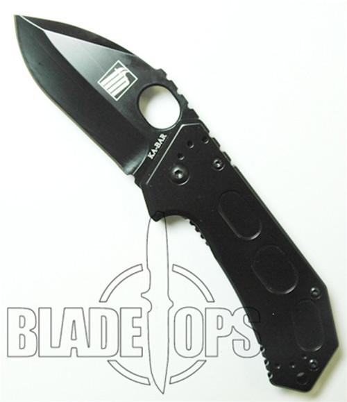 KA-BAR FIN Folding Drop Point Knife, Framelock, KA5550