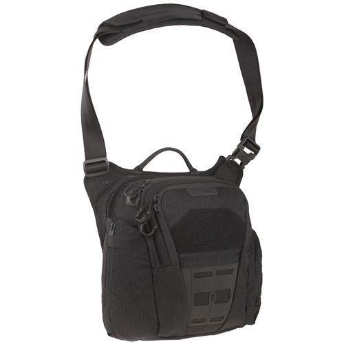 Maxpedition VLDBLK AGR Veldspar Crossbody Shoulder Bag, Black