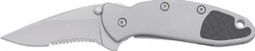 Kershaw Chive A/O Carbon Fiber Insert, Part Serrated