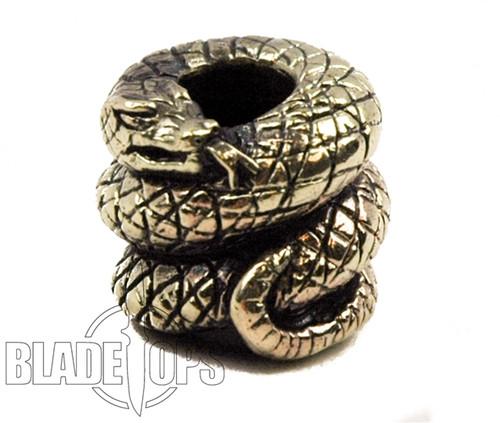 Lion ARMory Viper Brass Lanyard Bead