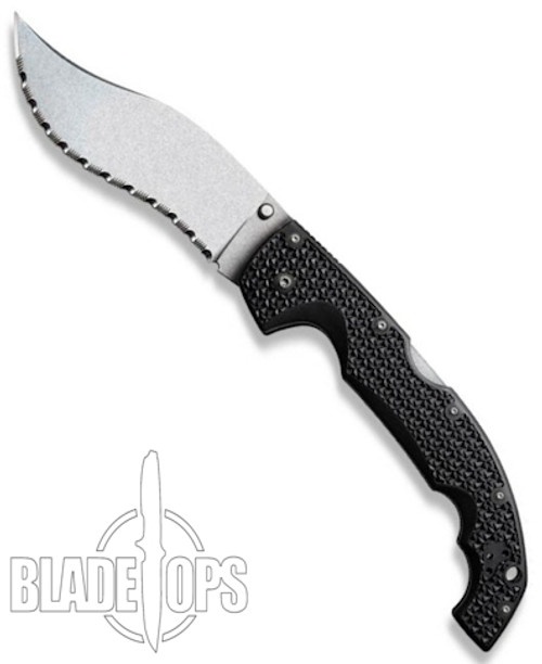 Cold Steel X-Large Vaquero Knife, Serrated Edge, CS29TXVS