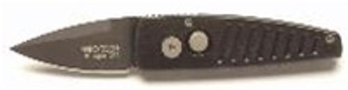 Pro-Tech Stinger, Black Plain Blade