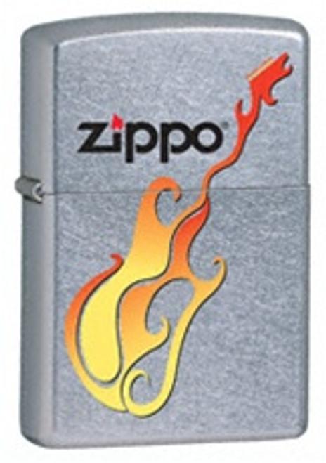 Street Chrome Zippo Guitar, 24805