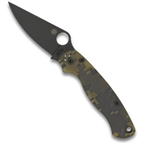 Spyderco C81GPCMOBK2 Digi Camo Paramilitary 2 Folder Knife, CPM-S30V Black Blade
