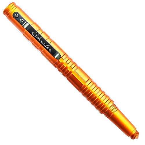 Schrade Orange Tactical Survival Pen, Fire Starter and Whistle