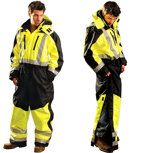 occunomix class 3 cold weather hi vis speed collection coveralls sp cvl