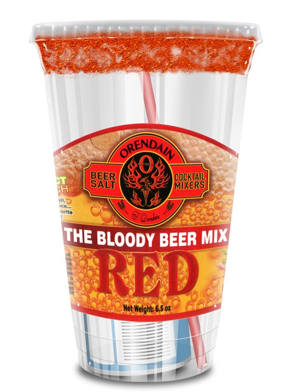 """RED  """"The Bloody Beer Mix"""" Case of 24"""