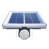 Savior Light SMD LED RGB 10000 Lumens 60-watt Solar Powered Pool Spa Pond Color Light with Remote