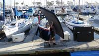 Savior Dinghy Boat Lift Dock and Emergacey Float  - Unsinkable  - 8 X 6 Feet Long