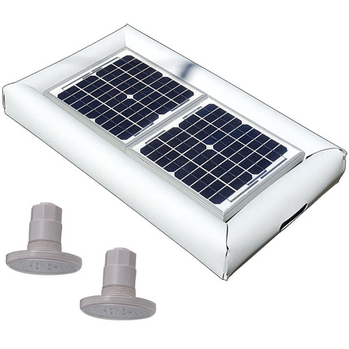 Savior Light SMD LED RGB 1000 Lumens 20-watt Solar Powered Pool Spa Pond Light
