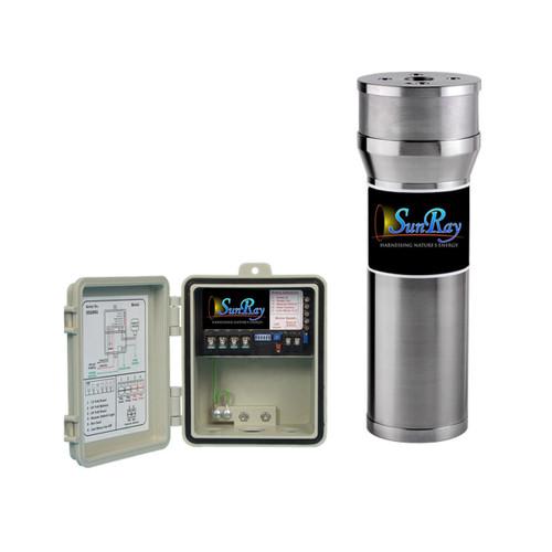 SunRay Solar Well Pump 100' 3 gpm 1400 gpd Kit with PV Solar Panels