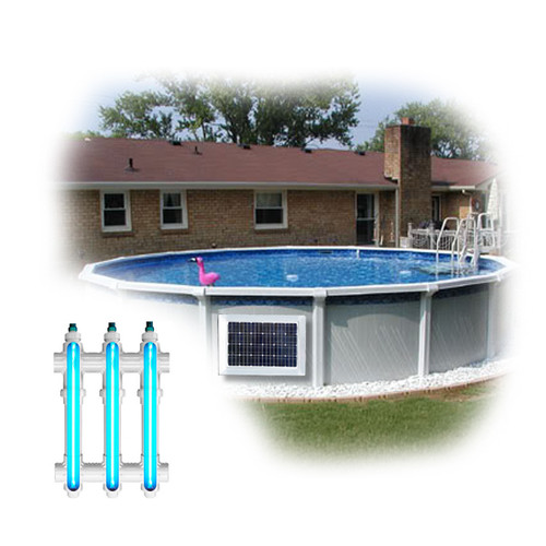 Above Ground Pool Magnet Wireless Power UV System 2