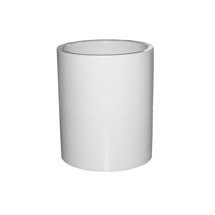 Natural Current 1 in. Spigot x Spigot PVC Pipe Fittings Connector Adaptors 25 per box - $0.28 / each $.37 MSRP / each