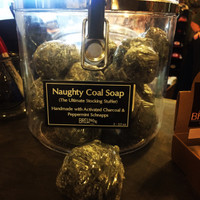 Naughty Coal Soap