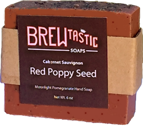 Red Poppy Seed Soap