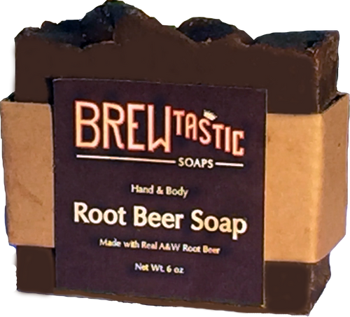 Made with REAL A&W Root Beer, this soap is great for all ages. The smell and appearance is authentic to the biggest of skeptics. We chose A&W because it is local to Texas, and it is our Soapmaker's favorite Root Beer.