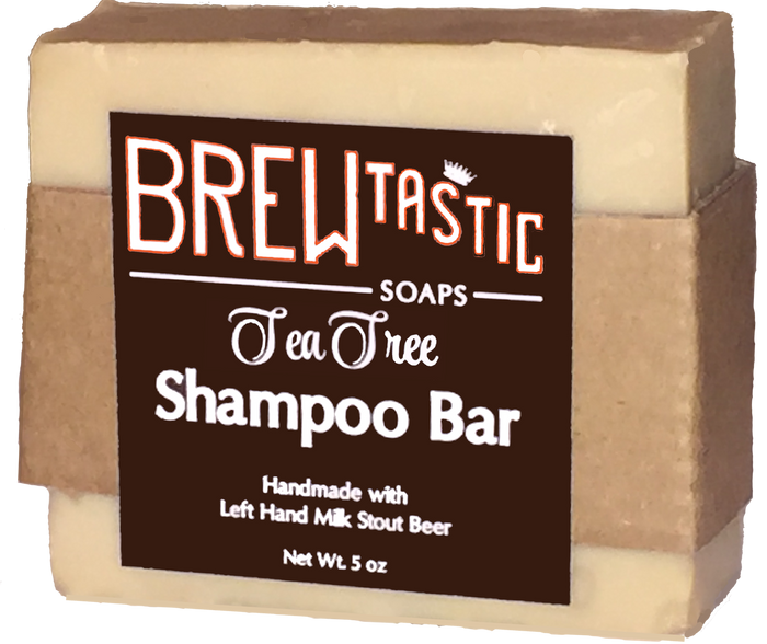 Great for hair and beards, our shampoo comes in 5 different scents: Tea Tree, Wilder, Citrus Blend, Tree Feller, and Rosemary.