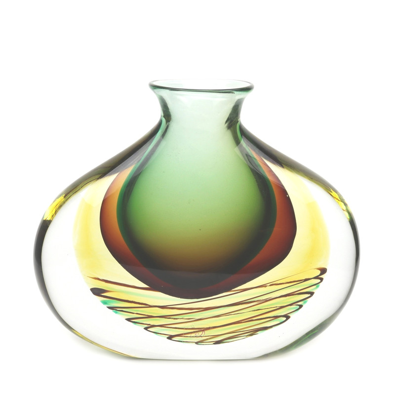 Murano Glass Vases Venetian Glass Vase Murano Glass Blown Vase