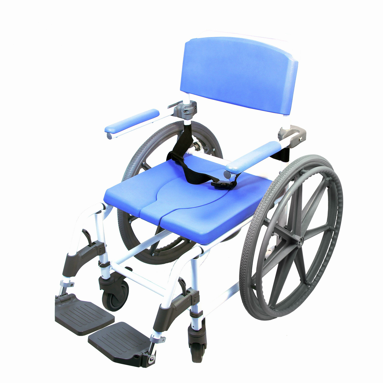 Best Shower Commode Wheelchair With 4 Way Seat - CareProdx