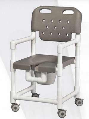 Elite Series Rolling Shower Commode Chair