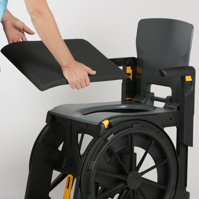 Soft Seat for Folding Shower Commode Wheelchair