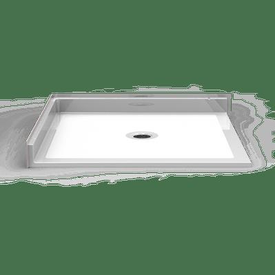 roll in shower pan 60 x 36 open on 2 sides careprodx. Black Bedroom Furniture Sets. Home Design Ideas