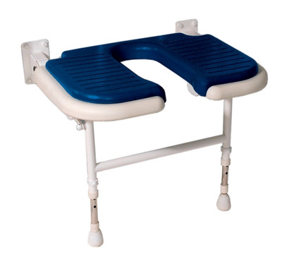 """Deluxe Fold Up Seat With """"U"""" Shape Cut-Out"""