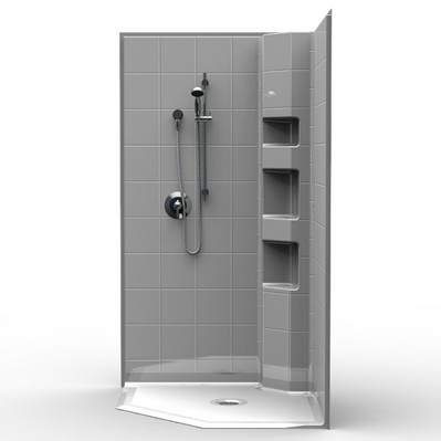 Neo Angle Barrier Free Shower
