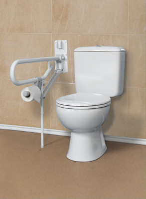 Toilet Support Bar With Fixed Leg
