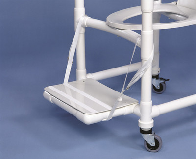 Snap On Footrest For IPU Shower And Commode Chairs
