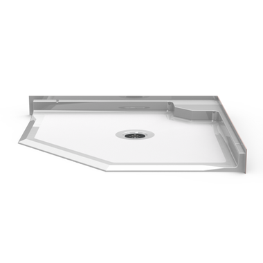 Neo Angle Roll In Shower Pan 42 X 42 Careprodx