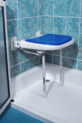 Folding Wall Mounted Shower Seat Careprodx